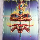 IRON MAIDEN - The Clairvoyant FLAG Heavy thrash METAL cloth poster