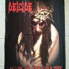 DEICIDE - Scars of crucifix FLAG Heavy thrash METAL cloth poster