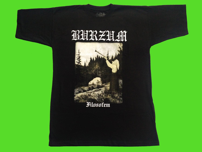 BURZUM - Filosofem T-shirt (XL) New. heavy thrash death metal
