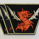 Sepultura - Logo Rubber patch vintage 80's 90's very rare collection