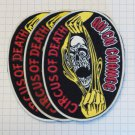 Quick Change - Circus of death Rubber patch vintage 80's 90's very rare collection