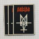 Deicide - Legion Trifixion Rubber patch vintage 80's 90's very rare collection