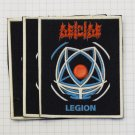 Deicide - Legion Rubber patch vintage 80's 90's very rare collection