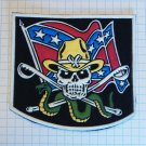 Harley Davidson - Motorcycles Confederate Rubber patch vintage 80's 90's very rare
