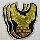 Harley Davidson - Motorcycles eagle Rubber patch vintage 80's 90's very rare collection