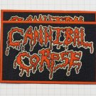 Cannibal Corpse - Logo Rubber patch vintage 80's 90's very rare collection