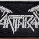 ANTHRAX - Logo EMBROIDERED PATCH BLACK DEATH THRASH HEAVY METAL