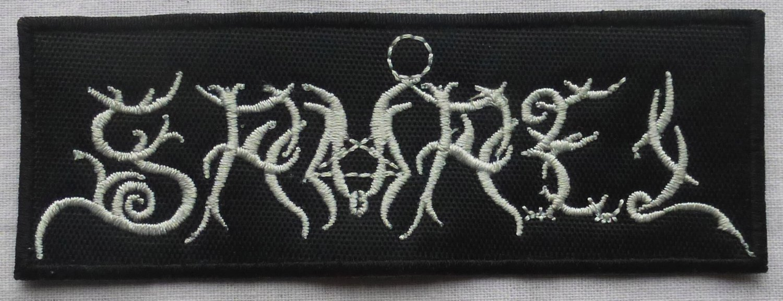 SAMAEL - Logo EMBROIDERED PATCH BLACK DEATH THRASH HEAVY METAL
