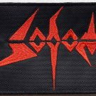 SODOM - Logo EMBROIDERED PATCH BLACK DEATH THRASH HEAVY METAL