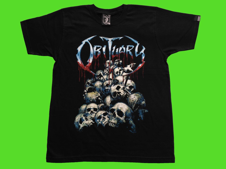 OBITUARY - Cause of death T-SHIRT Black (S) NEW heavy thrash death metal