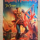 IRON MAIDEN - The trooper FLAG Heavy death metal cloth poster