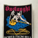 Onslaught - Power from hell vintage patch 80's 90's very rare collection
