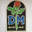 Depeche Mode Rubber patch vintage 80's 90's very rare collection