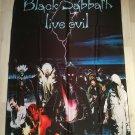 BLACK SABBATH - Live evil FLAG Heavy death metal cloth poster