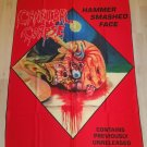 CANNIBAL CORPSE - Hammer smashed face FLAG Heavy death metal cloth poster