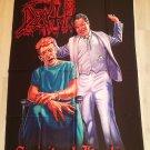 DEATH - Spiritual healing FLAG Heavy death metal cloth poster