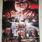 DESTRUCTION - Live without sense FLAG Heavy death metal cloth poster