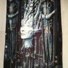 H.R. GIGER - Li II The empress. Tarot of the underworld FLAG Heavy death metal cloth poster