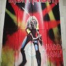 IRON MAIDEN - Maiden Japan FLAG Heavy death metal cloth poster