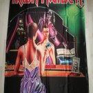 IRON MAIDEN - Twilight zone FLAG Heavy death metal cloth poster