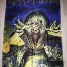 IRON MAIDEN - Rock in Rio 85 FLAG Heavy death metal cloth poster