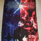 King Diamond - Mercyful Fate FLAG Heavy death metal cloth poster
