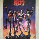 KISS - Destroyer FLAG Heavy death metal cloth poster