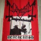 MAYHEM - Deathcrush FLAG Heavy death metal cloth poster