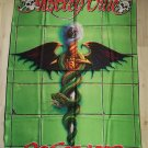 MOTLEY CRUE - Dr. Feel good FLAG Heavy death metal cloth poster