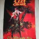 OZZY OSBOURNE - The ultimate sin FLAG Heavy death metal cloth poster