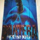 PANTERA - Far beyond driven FLAG Heavy death metal cloth poster