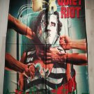 QUIET RIOT - Condition Critical FLAG Heavy death metal cloth poster