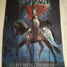 SAXON - Heavy metal thunder FLAG Heavy death metal cloth poster