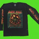 OVERKILL - Horrorscope Long sleeve shirt Black (L) NEW heavy thrash death metal