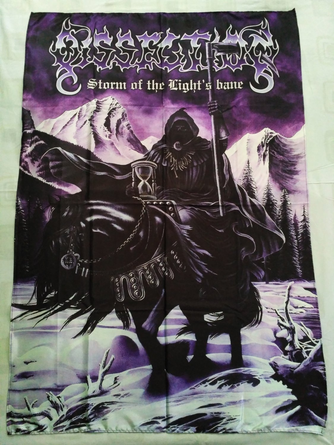 DISSECTION - Storm of the light's bane FLAG Heavy death metal cloth poster