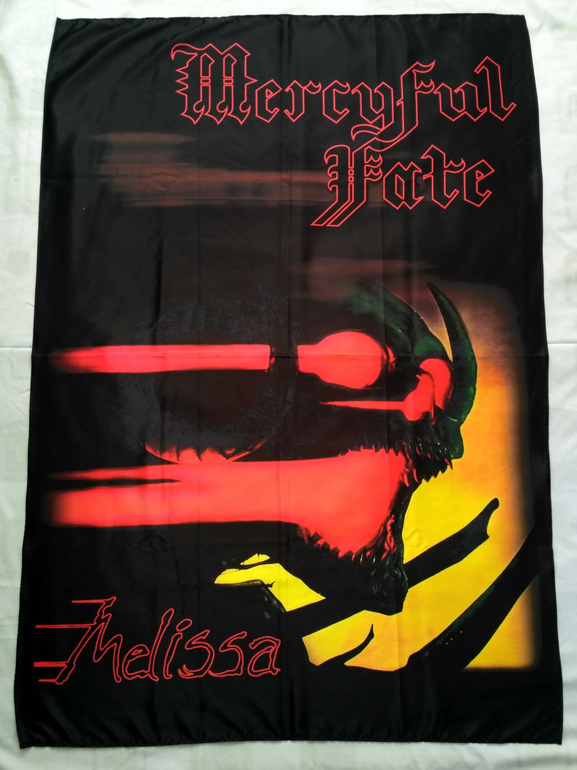 MERCYFUL FATE - Melissa FLAG Heavy death metal cloth poster