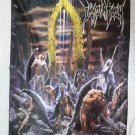 IMMOLATION - Here in after FLAG Heavy death metal cloth poster