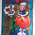 HELLOWEEN - I want out FLAG Heavy death metal cloth poster