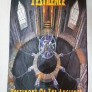 PESTILENCE - Testimony of the ancients FLAG Heavy death metal cloth poster