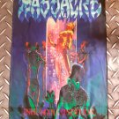 MASSACRE - Inhuman condition FLAG Heavy death metal cloth poster