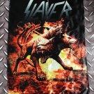 SLAYER - 3 head dog FLAG Heavy death metal cloth poster