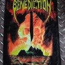 BENEDICTION - Subconscious terror FLAG Heavy death metal cloth poster