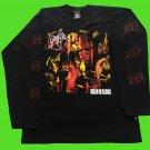 SLAYER - Reign in blood Long sleeve shirt Black (L) NEW heavy thrash death metal
