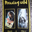 RUNNING WILD - death or glory POSTER FLAG Heavy death metal cloth poster