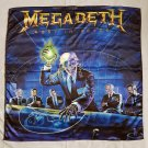 MEGADETH - Rust in peace POSTER FLAG Heavy death metal cloth poster