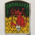 Metallica - Jump in the fire Rubber patch vintage 80's 90's very rare collection