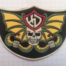 Harley Davidson Motorcycles Rubber patch vintage 80's 90's very rare collection