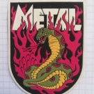 Heavy metal Rubber patch vintage 80's 90's very rare collection thrash death black metal