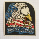 No guts no glory America United States USA Rubber patch vintage 80's 90's very rare collection