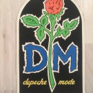 Depeche Mode Rubber BACK PATCH vintage 80's 90's very rare collection